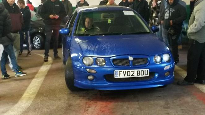 Cheap and quick MG ZR diesel - £325 plus premium.