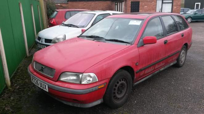 Dreadful Volvo sold for just £60!