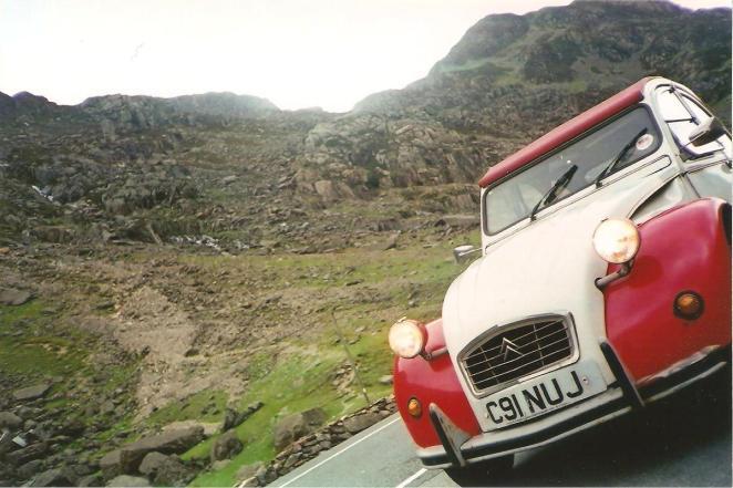 My 2CV way back in 2002
