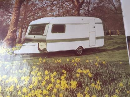 Our new caravan. Well, in 1981...