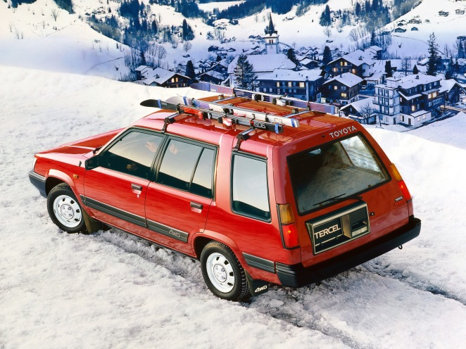 Yes, a Toyota Tercel 4WD