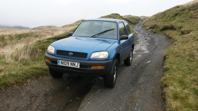 RAV4 off-road