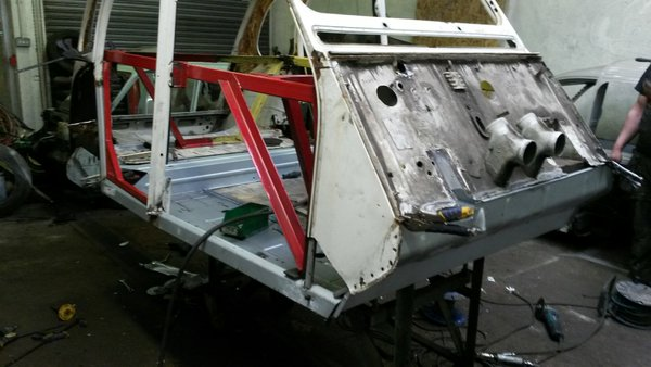 2cv refurbished bodyshell