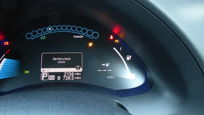 Fuel light roulette, EV style.