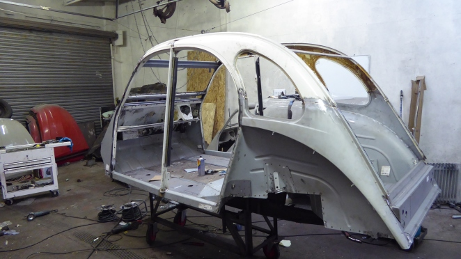 2cv refurbished body