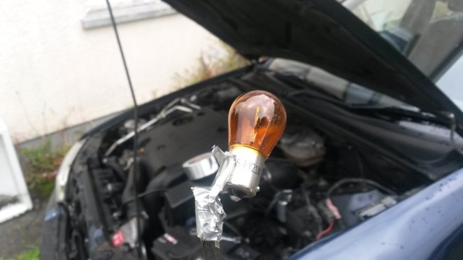 Rover 600 indicator bulb