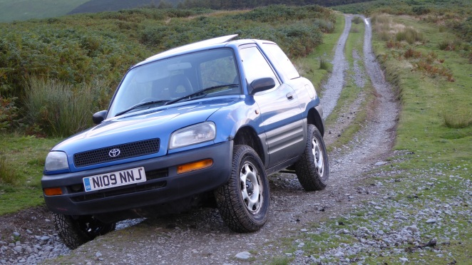 It can go greenlaning, but it's not very good.