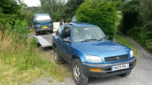 RAV4 towing
