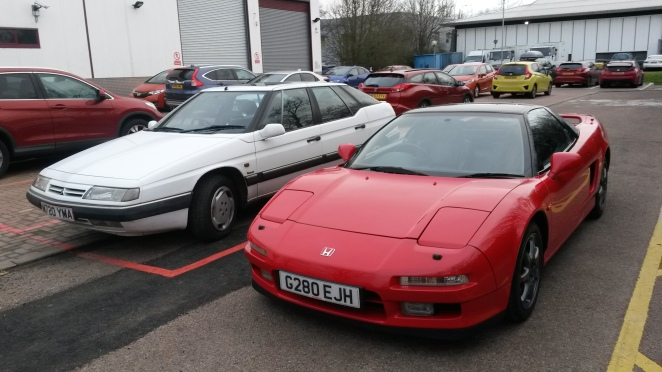 A fantastic driving machine, and an NSX.
