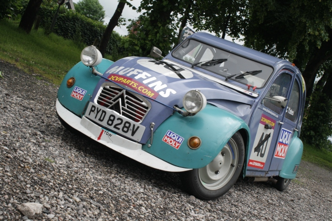 What's a 2CV race car like to drive?