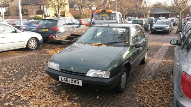 Citroen number 3 - my new £4 car.