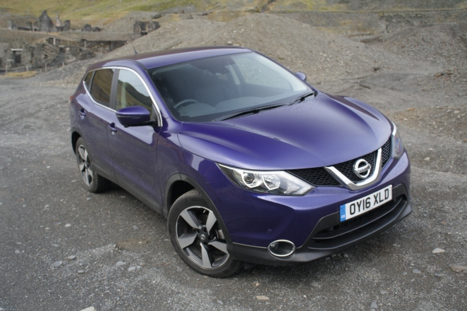 One of the most successful British-built cars - the Nissan Qashqai.