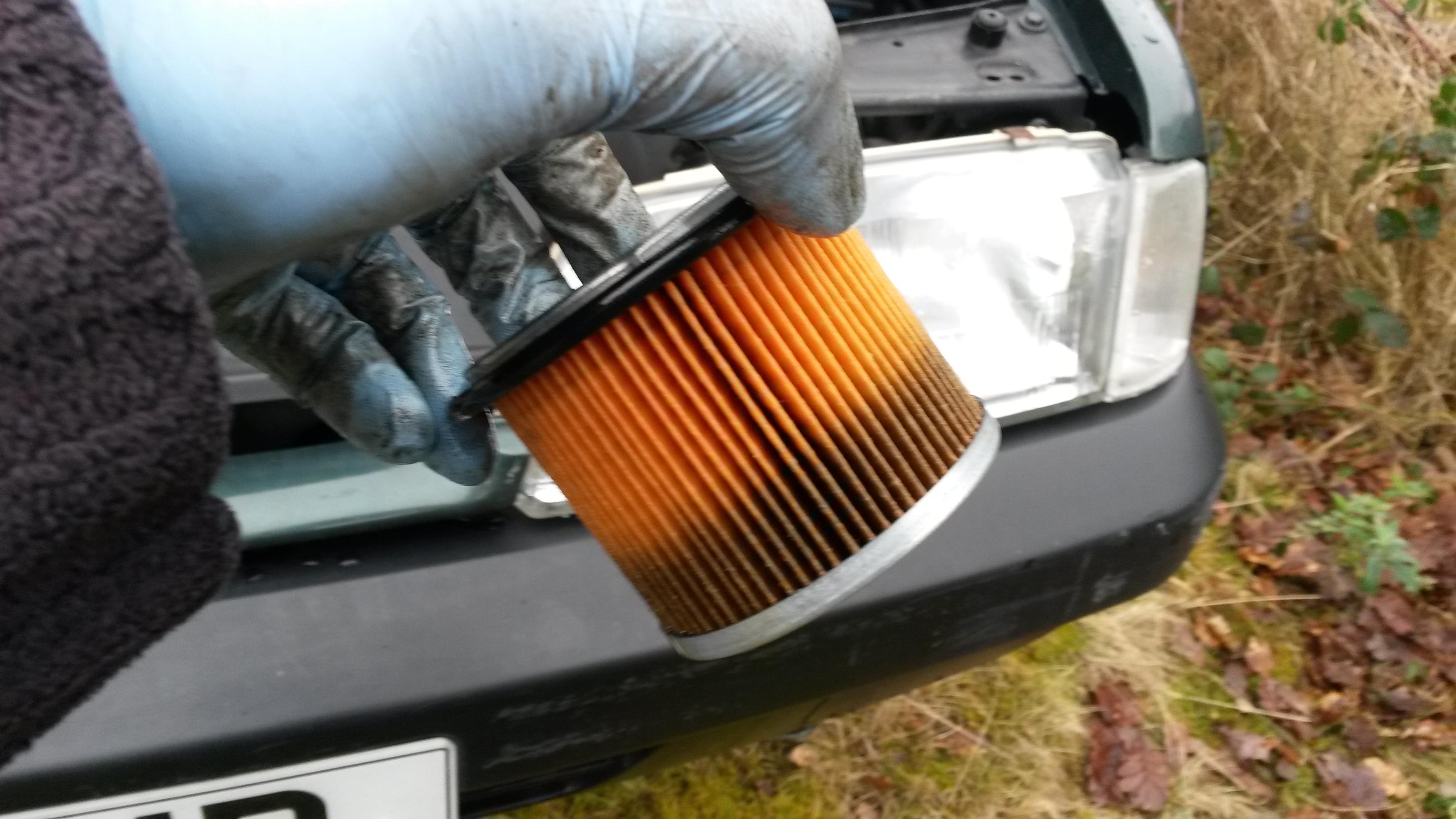 Citroen Zx Dirty Fuel Filter  U2013 Hubnut  U2013 Celebrating The
