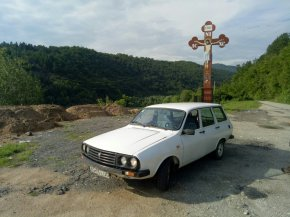 Dacia on its way home from Romania